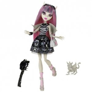 Кукла MONSTER HIGH - Рошель Гойл базовая с питомцем