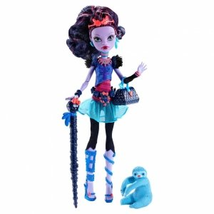 Кукла MONSTER HIGH - Джейн Булитл базовая с питомцем