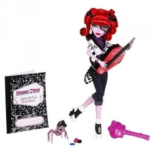 Кукла MONSTER HIGH - Оперетта базовая с питомцем