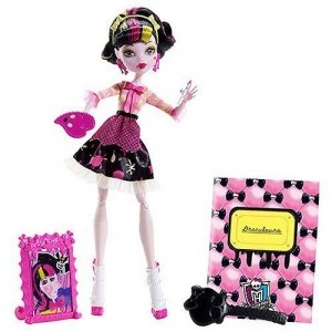 Кукла MONSTER HIGH Арт класс - Дракулаура