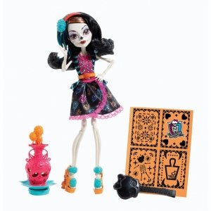Кукла MONSTER HIGH Арт класс - Скелита Калаверас