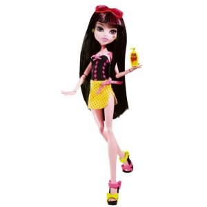 Кукла MONSTER HIGH Мрачный Пляж - Дракулаура