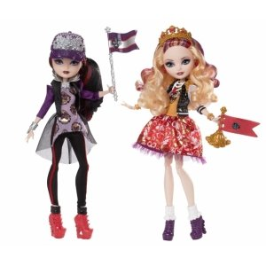 Сет из 2 кукол EVER AFTER HIGH Командный дух - Эппл Вайт и Рейвен Квин