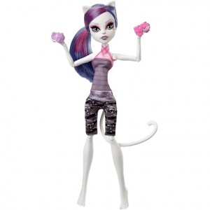 Кукла MONSTER HIGH Фантастик Фитнес - Кэтрин де Мяу