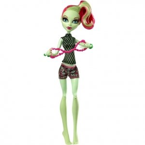 Кукла MONSTER HIGH Фантастик Фитнес - Венера Макфлайтрап
