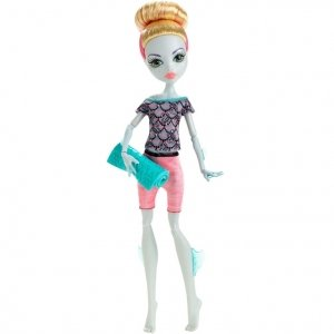 Кукла MONSTER HIGH Фантастик Фитнес - Лагуна Блю