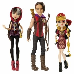 Сет из 3 кукол EVER AFTER HIGH - Хантер, Сериз, Лиззи