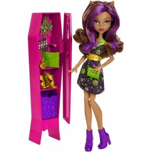 Игровой набор MONSTER HIGH - Монстролокер с Клодин Вульф