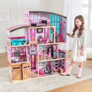 KidKraft Shimmer Mansion Dollhouse - Кукольный Особняк