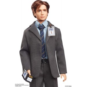 Кукла Barbie The X-Files Agent Fox Mulder Doll - Агент Фокс Малдер