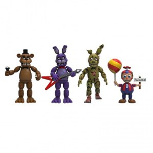 Funko Five Nights at Freddy's 4 Figure Pack - набор №2