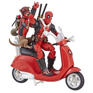 Дэдпул на Скутере - Marvel Legends Series Deadpool with Scooter